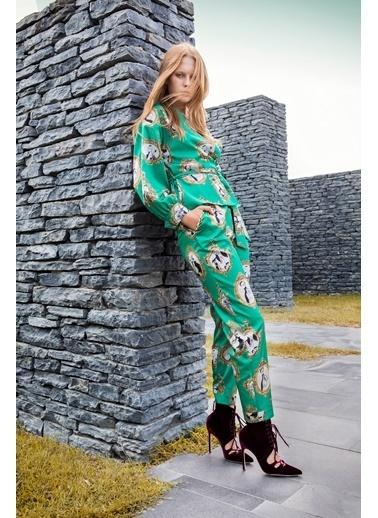 Berr-in  Olsen Pantolon Yeşil